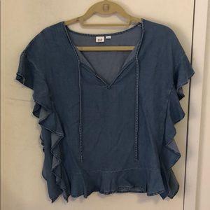 Gap denim shirt